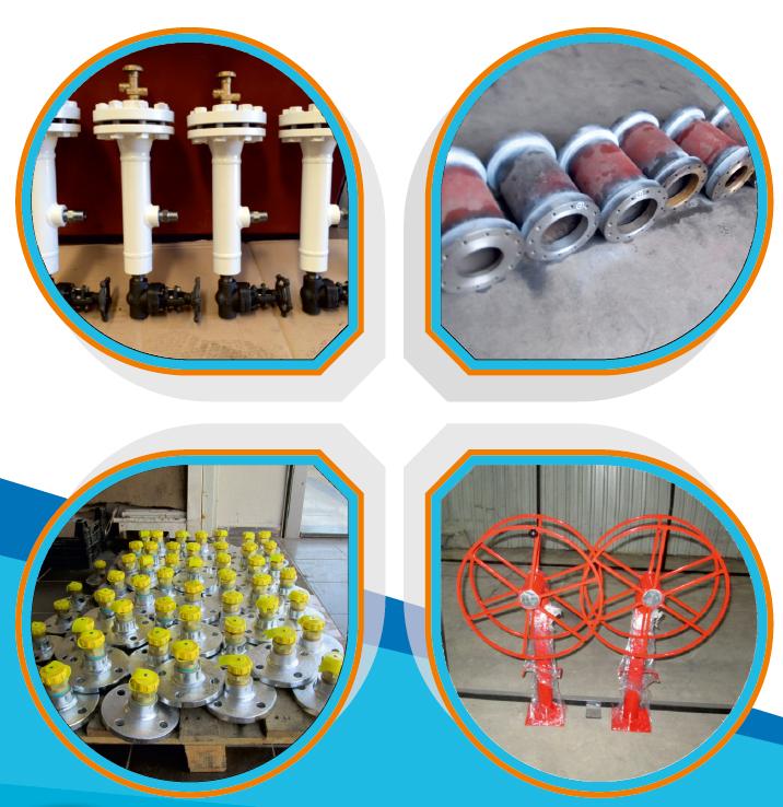 LPG, Akaryakıt ve tüm endüstriyel yedek parça imalat