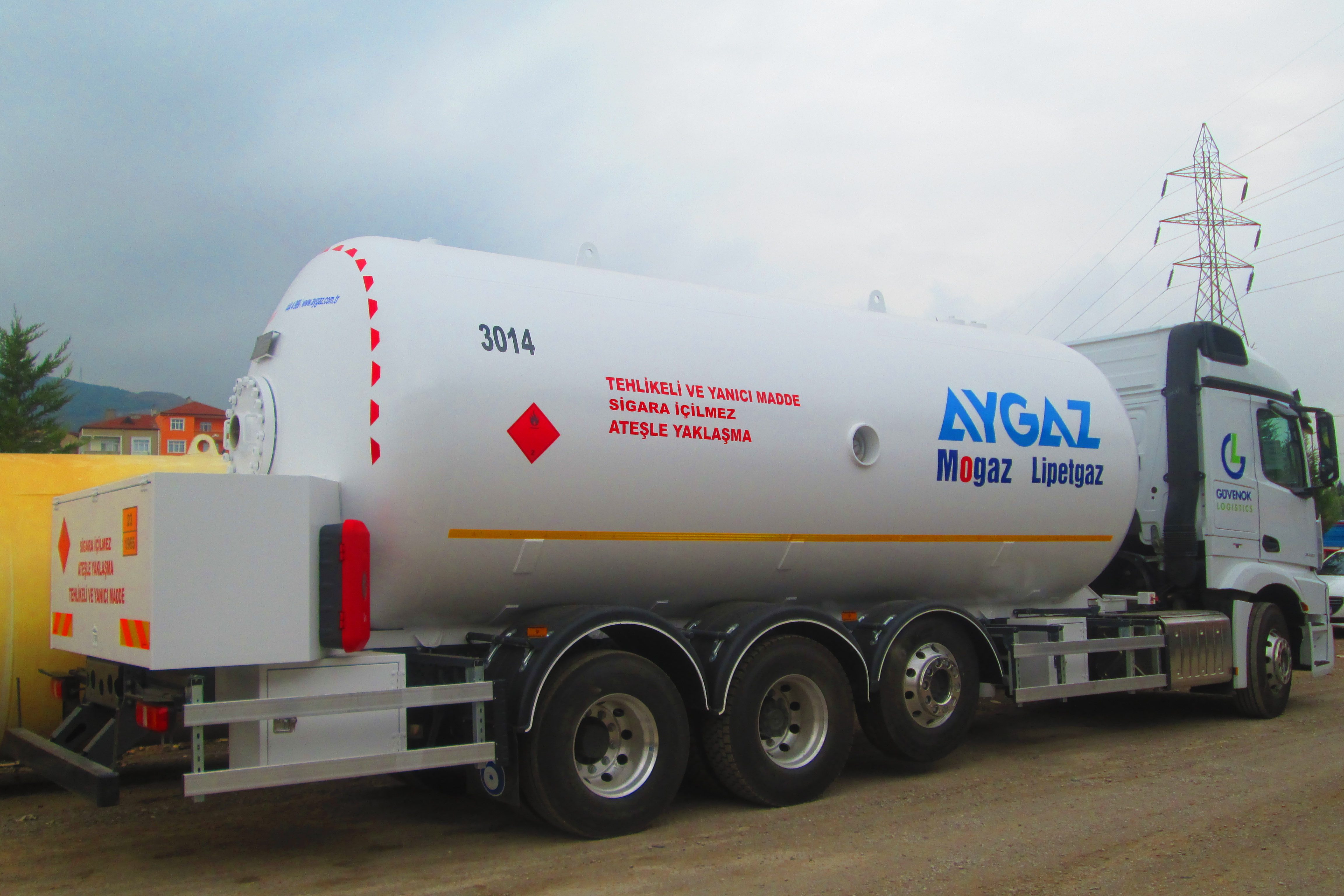Lpg Transport Tankerleri Tadilat ve Revizyon İşleri