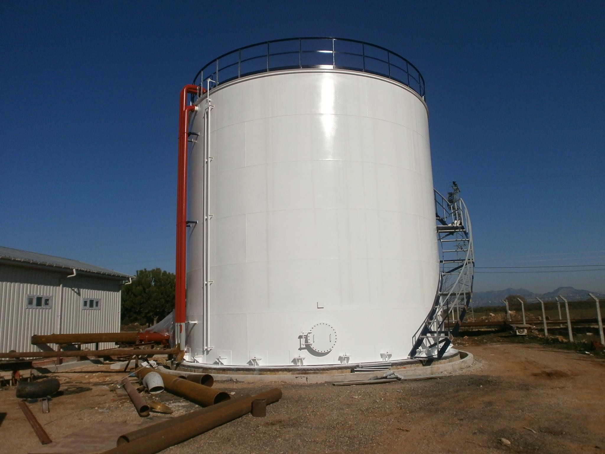 Petrol Kimya ve Su - Dik Silindirik Stok Tankları İmalatları