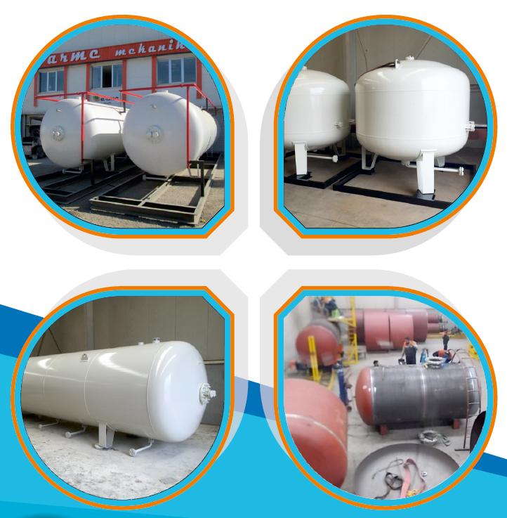 lpg tankları imalat